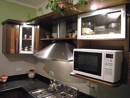 Amoblamientos de cocina a medida en santa rosa la pampa monlez n amoblamientos - Muebles de cocina color wengue ...