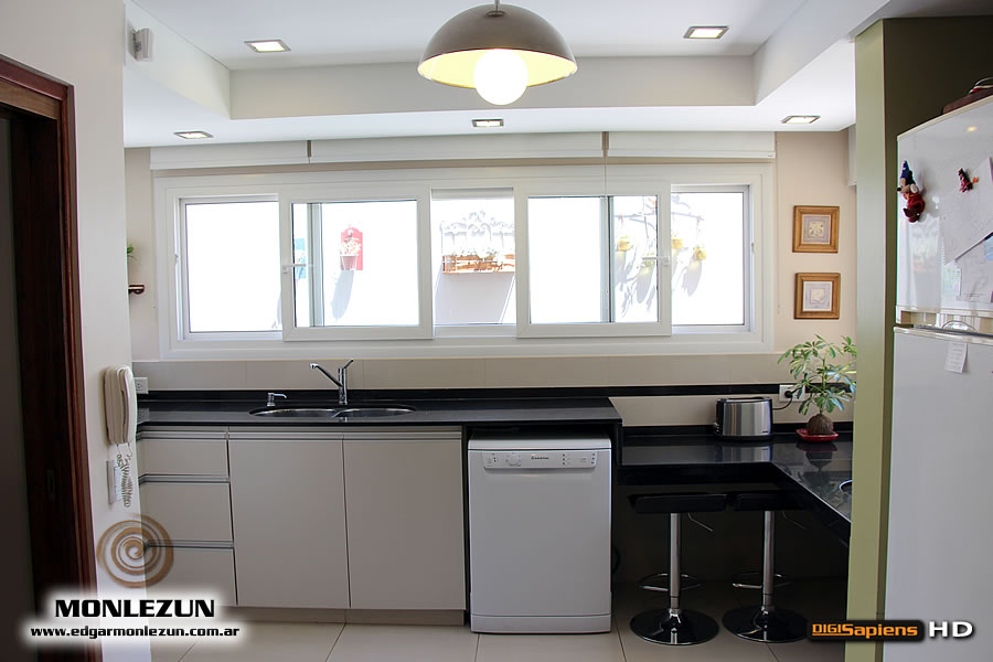 Muebles cocina rinconeros : Mueble de cocina a medida en melamina cantos abs