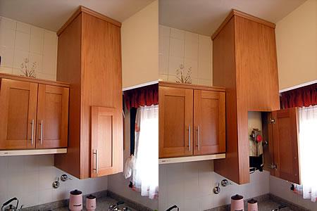 Mueble de cocina en cedro seleccionado puertas en cedro - Muebles de cocina en mostoles ...
